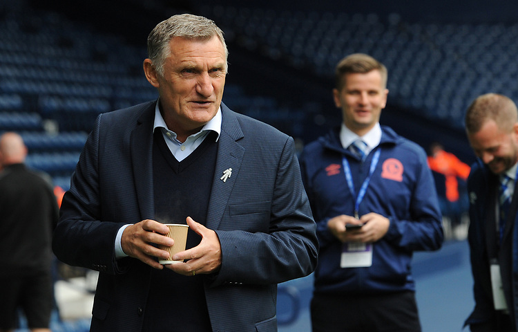 Blackburn Rovers manager Tony Mowbray <br /> <br /> Photographer Kevin Barnes/CameraSport<br /> <br /> The EFL Sky Bet Championship - West Bromwich Albion v Blackburn Rovers - Saturday 31st August 2019 - The Hawthorns - West Bromwich<br /> <br /> World Copyright © 2019 CameraSport. All rights reserved. 43 Linden Ave. Countesthorpe. Leicester. England. LE8 5PG - Tel: +44 (0) 116 277 4147 - admin@camerasport.com - www.camerasport.com