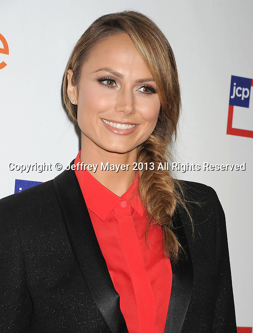 WEST HOLLYWOOD, CA - MARCH 07: Stacy Keibler attends the Joe Fresh at jcp launch event at Joe Fresh at jcp Pop Up on March 7, 2013 in West Hollywood, California.