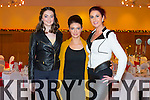 Models Charlotte Wall, Katie Tinsley and Ann Caraman at  the Ladies Lunch fashion show in Support of the Kerry Cancer support Group at the Ballyroe  Heights Hotel on Sunday