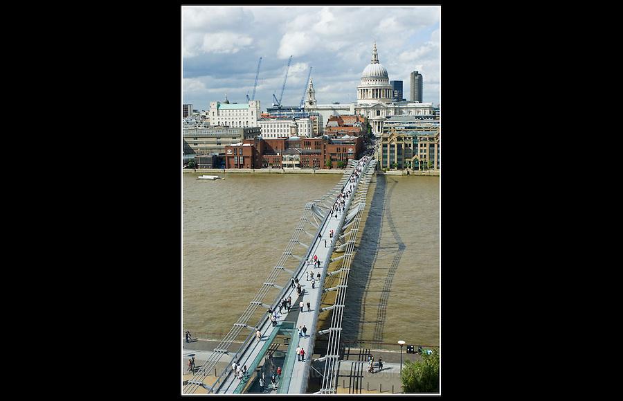 Millennium Bridge (Built 1998) London