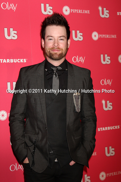 LOS ANGELES - APR 26:  David Cook arriving at the 2011 US Weekly Hot Hollywood Style Event  at Eden on April 26, 2011 in Los Angeles, CA..