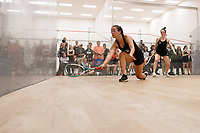 Stanford, CA - January 10, 2018:  Stanford Women's Squash wins over Brown 9-0 at the Arrillaga Center for Sports and Recreation.