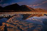 Midnight in June in Alaska's arctic reaches