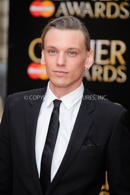WWW.ACEPIXS.COM<br /> <br /> April 12 2015, London<br /> <br /> Jamie Campbell Bower arriving at The Olivier Awards 2015 at Royal Opera House on April 12 2015 in London<br />  <br /> By Line: Famous/ACE Pictures<br /> <br /> <br /> ACE Pictures, Inc.<br /> tel: 646 769 0430<br /> Email: info@acepixs.com<br /> www.acepixs.com