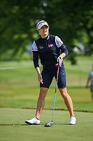 Charley Hull (ENG) watches her tee shot on 12 during the round 1 of the KPMG Women's PGA Championship, Hazeltine National, Chaska, Minnesota, USA. 6/20/2019.<br /> Picture: Golffile | Ken Murray<br /> <br /> <br /> All photo usage must carry mandatory copyright credit (© Golffile | Ken Murray)