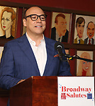 Danny Burnstein attends Broadway Salutes 10 Years - 2009-2018 at Sardi's on November 13, 2018 in New York City.