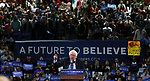 Democratic Presidential candidate Bernie Sanders at Rutgers Athletic Center in Piscataway on Sunday May 8, 2016.<br /> <br /> <br /> ON SUNDAY MAY 8, 2016<br /> <br /> <br /> COPYRIGHT:<br /> MARK R. SULLIVAN/markrsullivan.com©2016