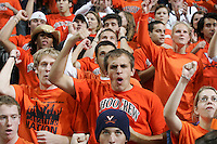 UVa mens basketball fans