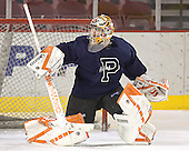 Thomas Sychterz - Princeton University Tigers took part in their morning skate on Friday, December 30, 2005 before facing the University of Denver in their first game of the Denver Cup at Magness Arena in Denver, Colorado.  Princeton defeated DU that evening 4-1.