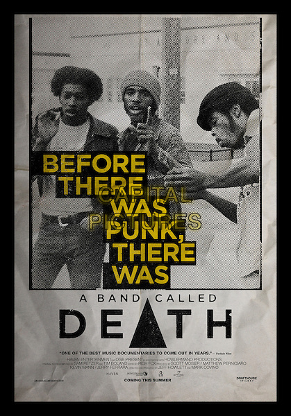 POSTER ART<br /> in A Band Called Death (2012) <br /> *Filmstill - Editorial Use Only*<br /> CAP/FB<br /> Image supplied by Capital Pictures
