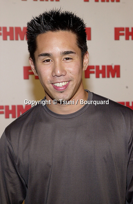 Parry Shen arriving at The magazine FHM salutes the 100 sexist women of the world at La Boheme cafe in Los Angeles 5/17/2001  © TsuniShenParry02.jpg