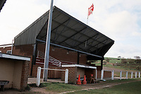 General view of Esh Winning FC Football Ground, West Terrace, Waterhouses, County Durham, pictured on 16th April 1995