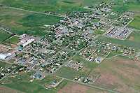 Aerial of Norwood, Colorado.  June 2013   88605