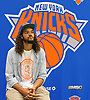Joakim Noah, a free agent signee of the New York Knicks, prepares for an interview during his introductory news conference at Madsion Square Garden Training Center in Greenburgh, NY on Friday, July 8, 2016.