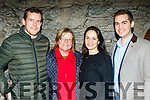 L-R attending the New Dingle Choir&Orchestra performance in St Mary's church in the town on December 22nd were L-R Mother and son couple of Eoghan&Marie Griffin, Dingle with Olive Lynch with her son Criostóir from Tralee.