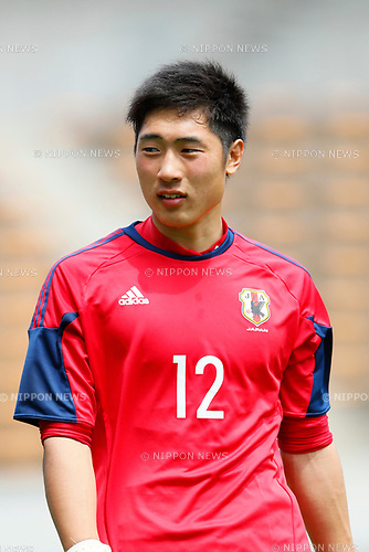 Keisuke Osako (JPN), <br /> APRIL 18, 2017 - Football / Soccer : <br /> U-20 Japan National team training match <br /> between U-20 - JEF United Chiba <br /> in Chiba, Japan. <br /> (Photo by Yohei Osada/AFLO SPORT)