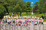 Fun Run Participants: The children who took part in the Kerry Crusaders organised Fun Run in Childers Park in Listowel on Sunday.
