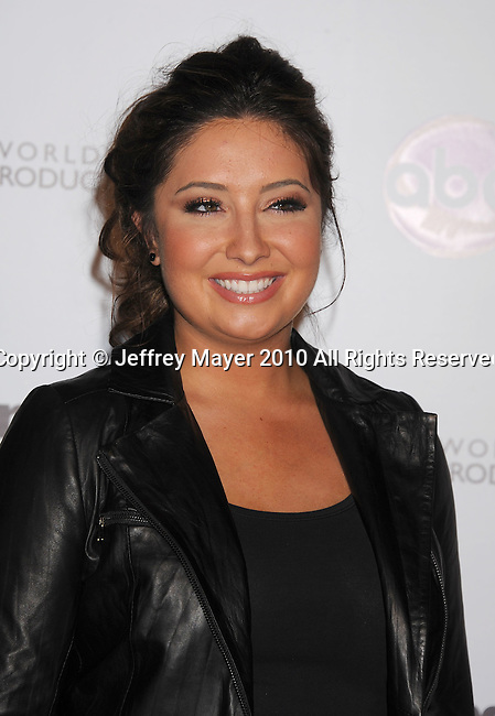 "HOLLYWOOD, CA. - November 01: Bristol Palin attends ""Dancing With The Stars"" 200th Episode at Boulevard 3 on November 1, 2010 in Hollywood, California."