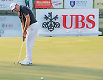 Sam Brazel of Australia putts on the green during the 58th UBS Hong Kong Golf Open as part of the European Tour on 10 December 2016, at the Hong Kong Golf Club, Fanling, Hong Kong, China. Photo by Marcio Rodrigo Machado / Power Sport Images