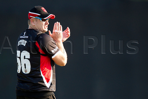 11.07.2014. Leicester, England. NatWest T20 Blast, Leicestershire Foxes vs Lancashire Lightning. SB STYRIS (Leicestershire Foxes).