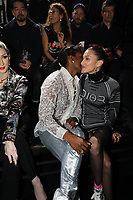 Asap Rocky and Bella Hadid in the front row<br /> Dior Homme show, Front Row, Pre Fall 2019, Tokyo, Japan - 30 Nov 2018<br /> CAP/SAT<br /> &copy;Satomi Kokubun/Capital Pictures