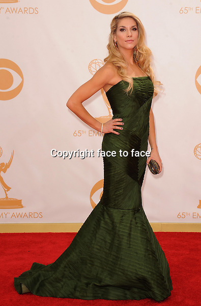 Allison Holker arrives at the 65th Primetime Emmy Awards at Nokia Theatre on Sunday Sept. 22, 2013, in Los Angeles.<br /> Credit: MediaPunch/face to face<br /> - Germany, Austria, Switzerland, Eastern Europe, Australia, UK, USA, Taiwan, Singapore, China, Malaysia, Thailand, Sweden, Estonia, Latvia and Lithuania rights only -