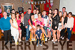 Twins Celabrate: Twins Carina & Lorraine Fitzmaurice, Listowel celebrating their 21st birthdays with family & friends at Christy's Bar, Listowel on Saturday night last.