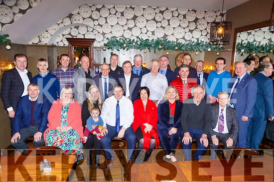 Kerry Mayor Niall Kelliher with his family and Kerry County Council members who dined at the Laurels Bar Killarney on Monday evening after the Council sat in Rathmore on Monday