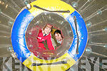 Zorbing Party : Enjoying the Zorbing party held at St Senan's Clubhouse, Mountcoal on Sunday last were cousins Ciara Galvin & Ruth Moore from Mountcoal.