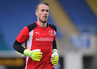 Fleetwood Town's Alex Cairns during the pre-match warm-up <br /> <br /> Photographer Kevin Barnes/CameraSport<br /> <br /> The EFL Sky Bet League One - Oxford United v Fleetwood Town - Tuesday 10th April 2018 - Kassam Stadium - Oxford<br /> <br /> World Copyright &copy; 2018 CameraSport. All rights reserved. 43 Linden Ave. Countesthorpe. Leicester. England. LE8 5PG - Tel: +44 (0) 116 277 4147 - admin@camerasport.com - www.camerasport.com