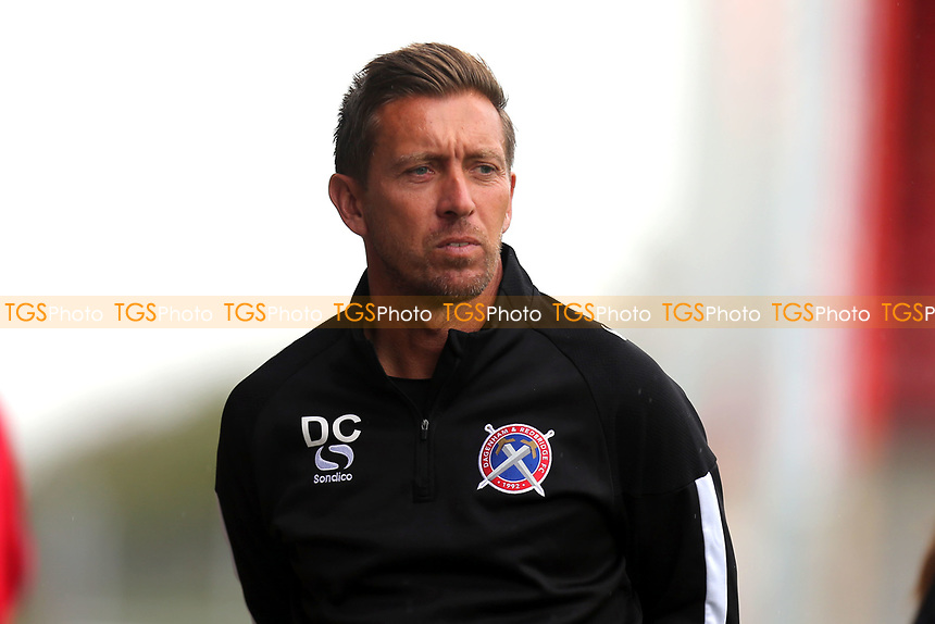 Daggers assistant manager Darren Currie during Dagenham & Redbridge vs Stevenage, Friendly Match Football at the Chigwell Construction Stadium on 29th July 2017