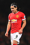 Radamel Falcao of Manchester United looks dejected - Manchester United vs. Burnley - Barclay's Premier League - Old Trafford - Manchester - 11/02/2015 Pic Philip Oldham/Sportimage