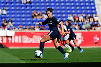 HARRISON, NJ - SEPTEMBER 29: Carli Lloyd #10 of Sky Blue FC during a game between Orlando Pride and Sky Blue FC at Red Bull Arena on September 29, 2019 in Harrison, New Jersey.