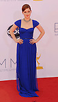 LOS ANGELES, CA - SEPTEMBER 23: Jane Levy arrives at the 64th Primetime Emmy Awards at Nokia Theatre L.A. Live on September 23, 2012 in Los Angeles, California.