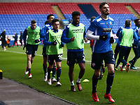 Bolton Wanderers' warming up before the match against Fulham<br /> <br /> Photographer Leila Coker/CameraSport<br /> <br /> The EFL Sky Bet Championship - Bolton Wanderers v Fulham - Saturday 10th February 2018 - Macron Stadium - Bolton<br /> <br /> World Copyright &copy; 2018 CameraSport. All rights reserved. 43 Linden Ave. Countesthorpe. Leicester. England. LE8 5PG - Tel: +44 (0) 116 277 4147 - admin@camerasport.com - www.camerasport.comBolton Wanderers'  <br /> <br /> Photographer Leila Coker/CameraSport<br /> <br /> The EFL Sky Bet Championship - Bolton Wanderers v Fulham - Saturday 10th February 2018 - Macron Stadium - Bolton<br /> <br /> World Copyright &copy; 2018 CameraSport. All rights reserved. 43 Linden Ave. Countesthorpe. Leicester. England. LE8 5PG - Tel: +44 (0) 116 277 4147 - admin@camerasport.com - www.camerasport.com