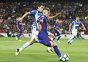 9th September 2017, Camp Nou, Barcelona, Spain; La Liga football, Barcelona versus Espanyol;  Deulofeu in action