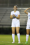 27 October 2016: Duke's Ella Stevens. The Duke University Blue Devils hosted the Clemson University Tigers at Koskinen Stadium in Durham, North Carolina in a 2016 NCAA Division I Women's Soccer match. Clemson won the game 1-0.