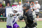 Orange, CA 05/16/15 - Griffin Bohm (Colorado #46) and Kris Holland (Grand Canyon #1) in action during the 2015 MCLA Division I Championship game between Colorado and Grand Canyon, at Chapman University in Orange, California.