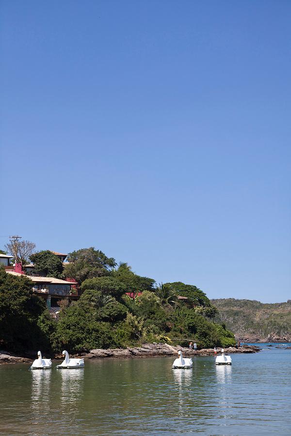 View of Insolito Boutique Hotel from Ferradura Beach
