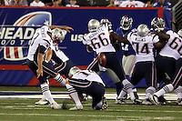 Field Goal von K Stephen Gostkowski (Patriots)