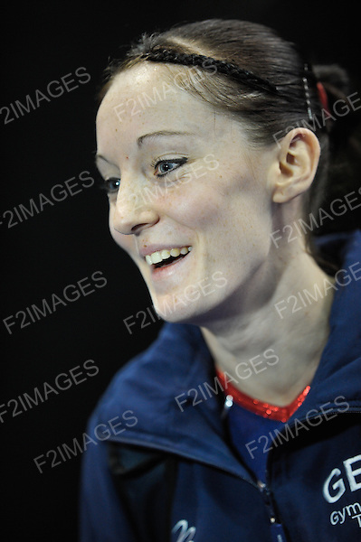 17.11.11 Trampoline and Tumbling World Championships.Emma Smith of Great Britiain. Kat Driscoll