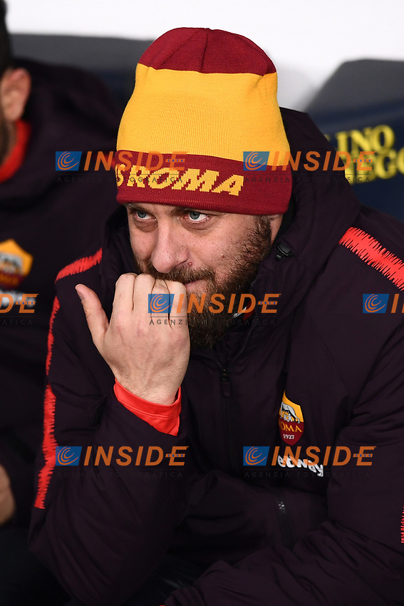 Daniele De Rossi of AS Roma <br /> Verona 8-2-2019 Stadio Bentegodi Football Serie A 2018/2019 Chievo Verona - AS Roma <br /> Foto Andrea Staccioli / Insidefoto