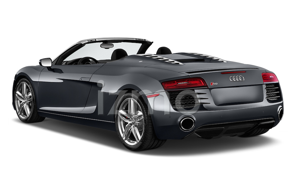 2014 Audi R8 Spyder Convertible Angular Rear View