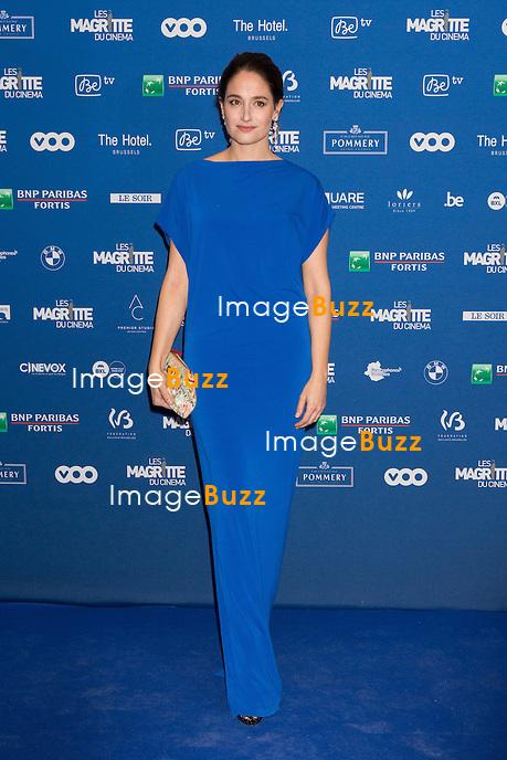 Marie Gillain : 7&egrave;me C&eacute;r&eacute;monie des Magritte du Cin&eacute;ma, qui r&eacute;compense le septi&egrave;me art belge, au Square, &agrave; Bruxelles.<br /> 7th edition of the Magritte du Cinema awards ceremony.<br /> Belgium, Brussels, 4 February 2017