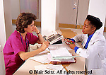 Medical, Physician at Work, Doctor Consults with Nurse, Hospital Care