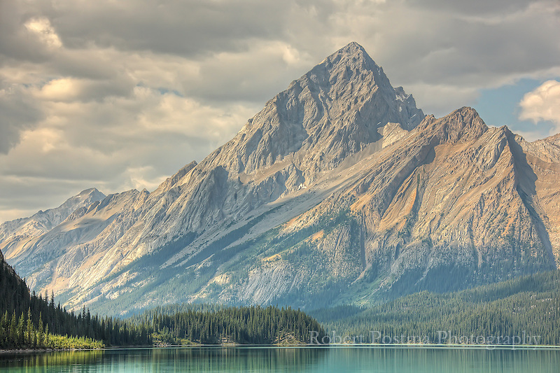Samson Mountain, Jasper National Park.