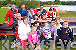 The Workman Crew and Supporters pictured at Killarney Regatta at O'Mahonys point, Killarney on Sunday.