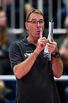 05.10.2019, Halle Berg Fidel, Muenster<br />Volleyball, Bundesliga Frauen, Normalrunde, USC MŸnster / Muenster vs. Allianz MTV Stuttgart<br /><br />Teun Buijs (Trainer / Coach Muenster)<br /><br />  Foto © nordphoto / Kurth