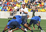 08 September 2007: Brazil assistant coach Carlos Alberto Torres. The Brazil Men's National Team practiced at Toyota Park in Bridgeview, Illinois.