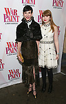 Amy Fine Collins, Flora Collins attend the Broadway Opening Night Performance of 'War Paint' at the Nederlander Theatre on April 6, 2017 in New York City